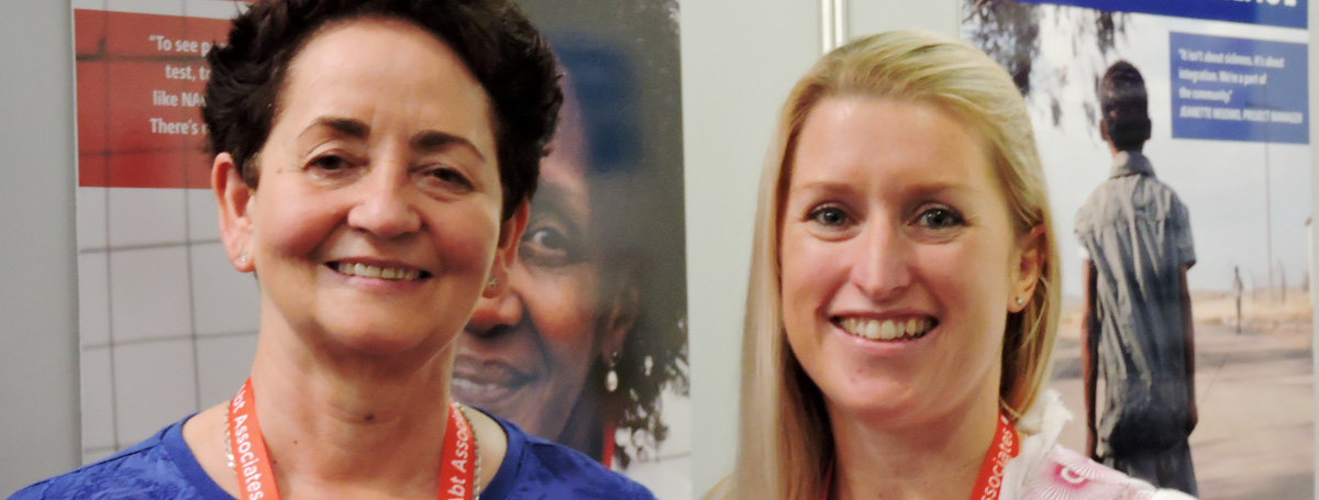 Executive Director, Maureen Van Wyk and Deputy Programme Director, Caroline Wills have been busy attending sessions at AIDS 2016