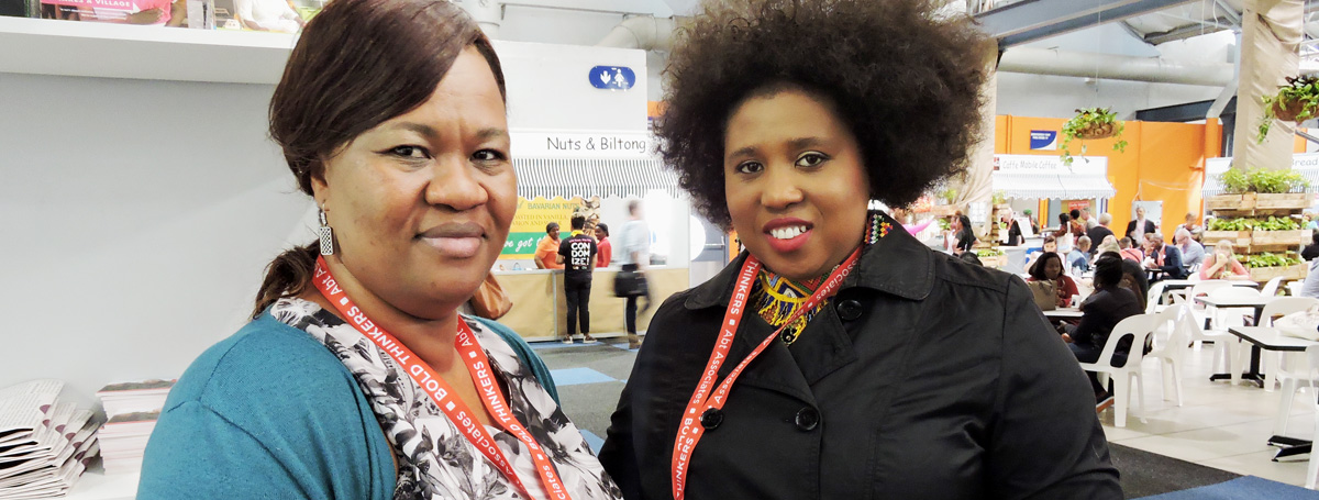 Provincial Manager, Stellar Zulu talks about young women & girls with the Zulu King's daughter